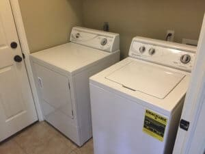 Speed Queen review of both washer and dryer show both in this photo.